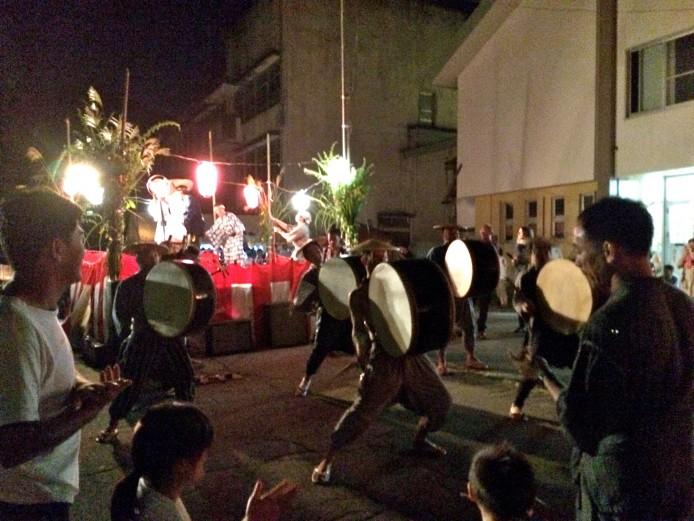 浦田盆踊り