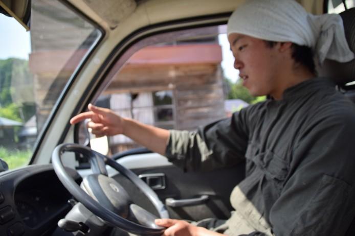 高橋さん運転